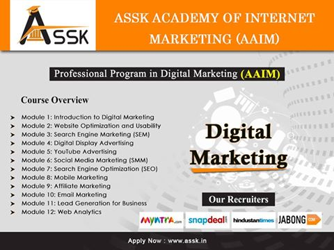 Assk Digital Marketing Course
