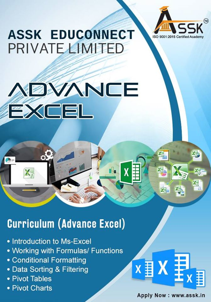 Advanced excel training institute in Delhi NCR